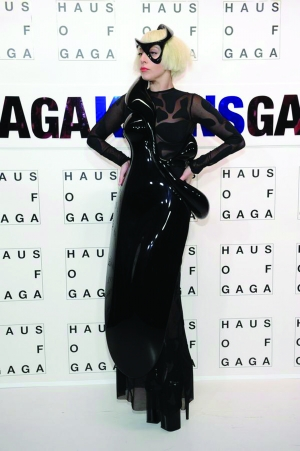 Lady Gaga's 3D print dress